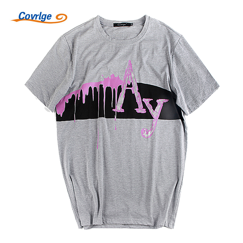 Covrlge Man's T-Shirt Estampado de moda de verano Camiseta de manga - Ropa de hombre