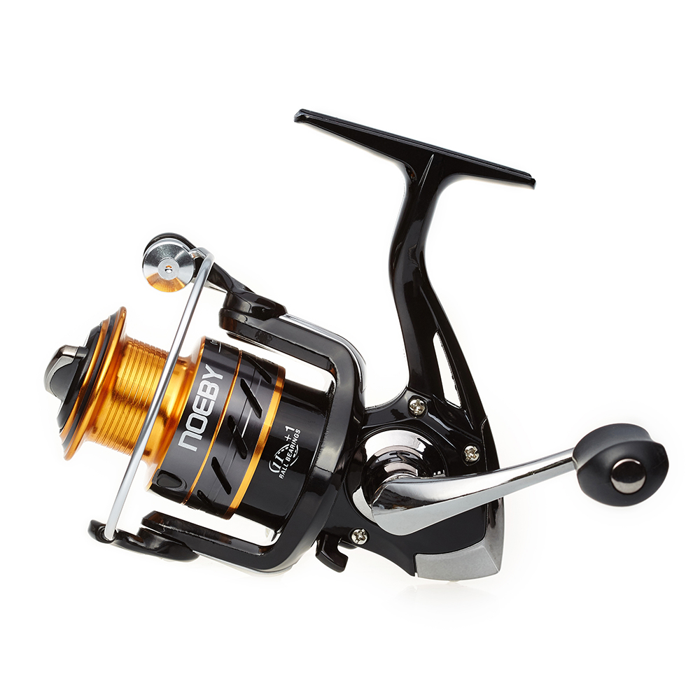 Noeby new spinning fishing reel fishing tack sea fishing 5.5:1 gear ratio high quality Aluminum handle fishing reel low price