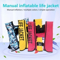 New Manual Inflatable Life Jacket Drifting Professional Adult Swiming Fishing Life Vest Swimwear Water Sports Swimming Outfits