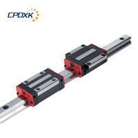 New linear guide rail HGR20 500mm long with 2pcs linear block carriage HGH20CA HGH20 HGW20CC CNC parts