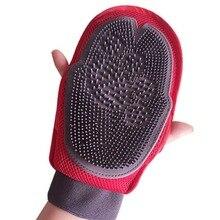Щетка для ухода за собаками, гребень, перчатка для чистки домашних животных, массажная перчатка для ухода за животными, перчатки для чистки пальцев, перчатки для кошачьей шерсти