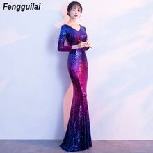 2019 Sexy Strapless Mermaid Dress Long Split Front Bodycon Backless Red Black Floor Length