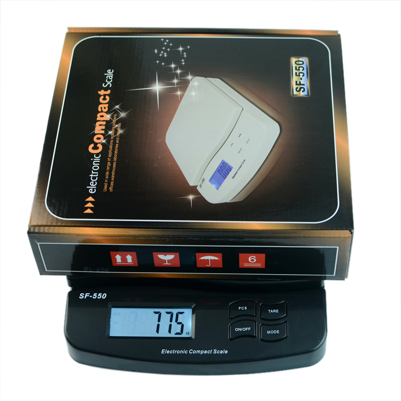 25kg/55lb Weighing Scales Parcel Letter Postage Mail Postal Scale Electronic Digital Shipping Weight Kitchen Shop Commercial LCD