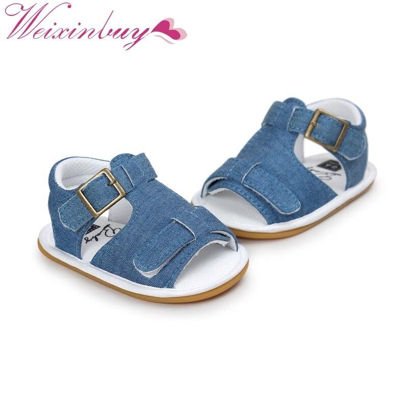 3c62ed2e0 2017 для маленьких мальчиков сандалии для девочек малышей Закрытая обувь  летние Обувь Детские босоножки из искусственной кожи 0-18 м | Сандалии с ...