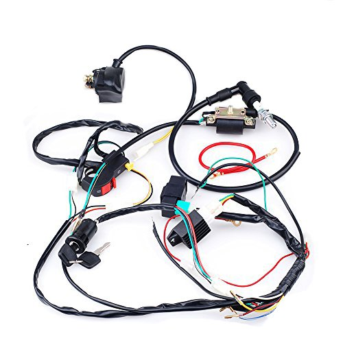 complete electrics cdi coil wiring loom harness kick kits for 50cc rh aliexpress com motorcycle wiring loom kit motorcycle wiring loom cover