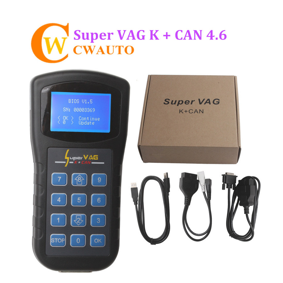 все цены на Low Cost Super VAG K CAN 4.6 Support Odometer Correction Immo for VAG Vehicles