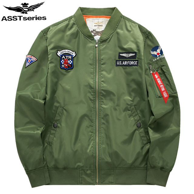 191a5b002 US $24.98 |Asstseries Bomber Jacket Men Army Military Jacket Men Mens Air  Force Jackets And Coats Oversize 6XL Tactical Jacket For Men.DA37-in  Jackets ...