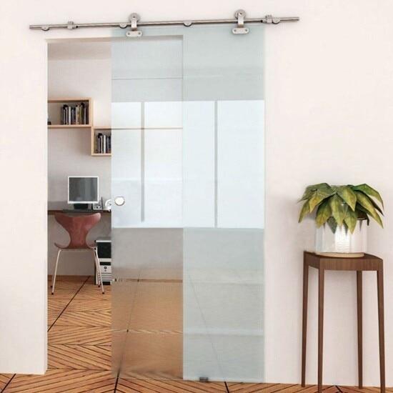 heavy duty granero hardware de la puerta corredera de cristal