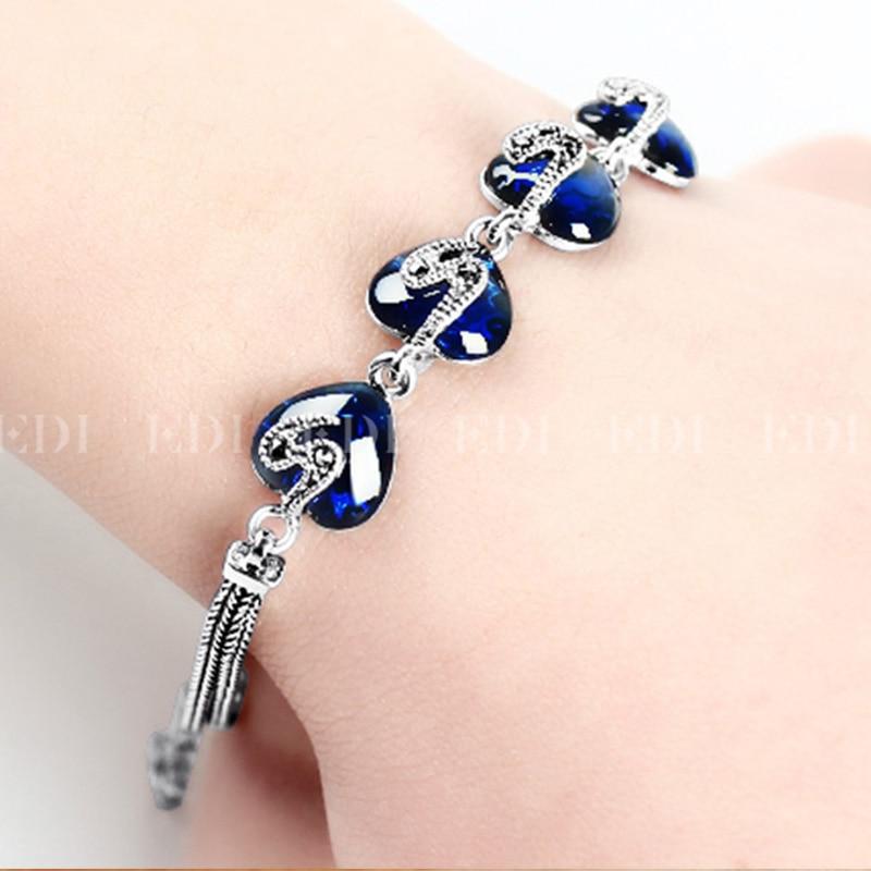EDI Kvinnor 925 Thai Sterling Silver Ankel Armband För Kvinnor - Fina smycken - Foto 5