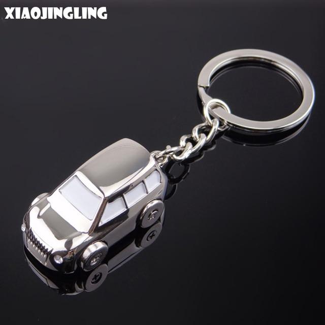 XIAOJINGLING Jeep Car Keychain Fashion Men Car Key Keyring Charming ...