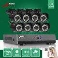 ANRAN 8CH HD 1800TV 1080N Kit AHD DVR 720 P 24 IR Day Night Câmera de Vigilância Em Casa CCTV Segurança Ao Ar Livre À Prova D' Água sistema