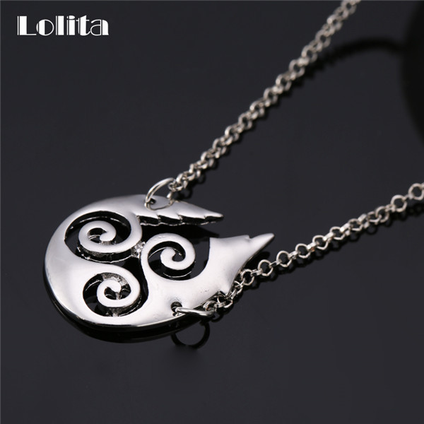Lolita Teen Wolf Symbols Necklace Xl523 In Pendant Necklaces From