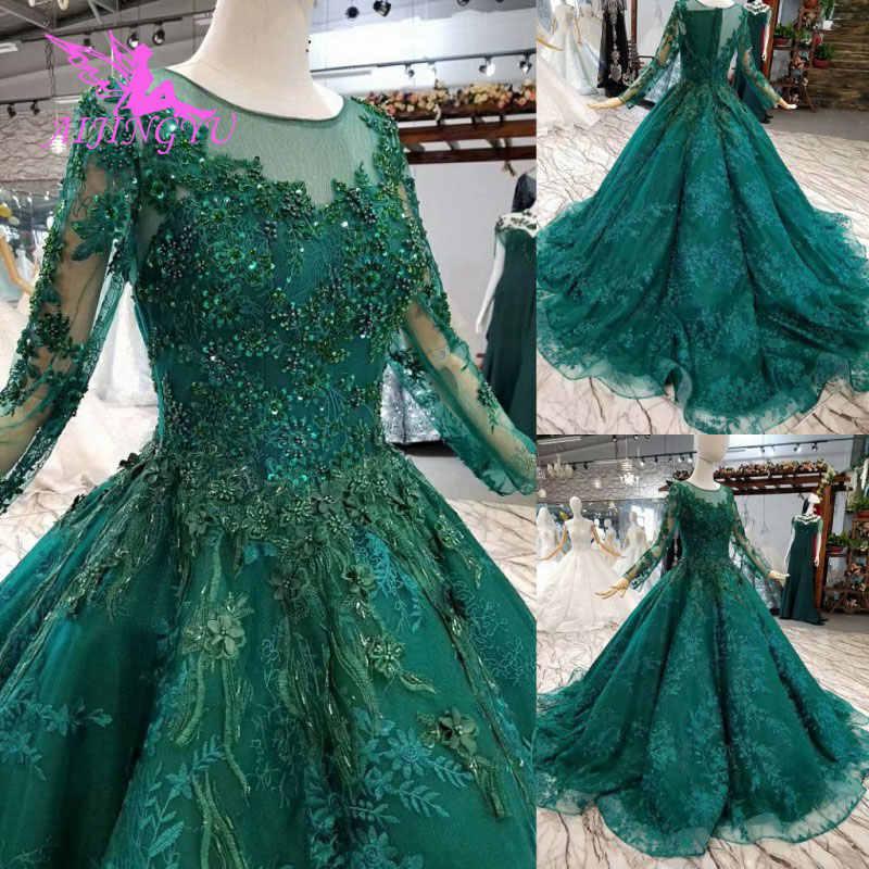 bab32db778 ... AIJINGYU Luxury Gowns 2018 Royal Train Long Lebanon Marriage Online  Gown Online Sale China Muslim Wedding ...