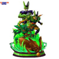 Presale Dragon Ball Z Ultimate Bot Cell Resin Scenes Statue With LED Light Model (Delivery Period: 60 Days) X489