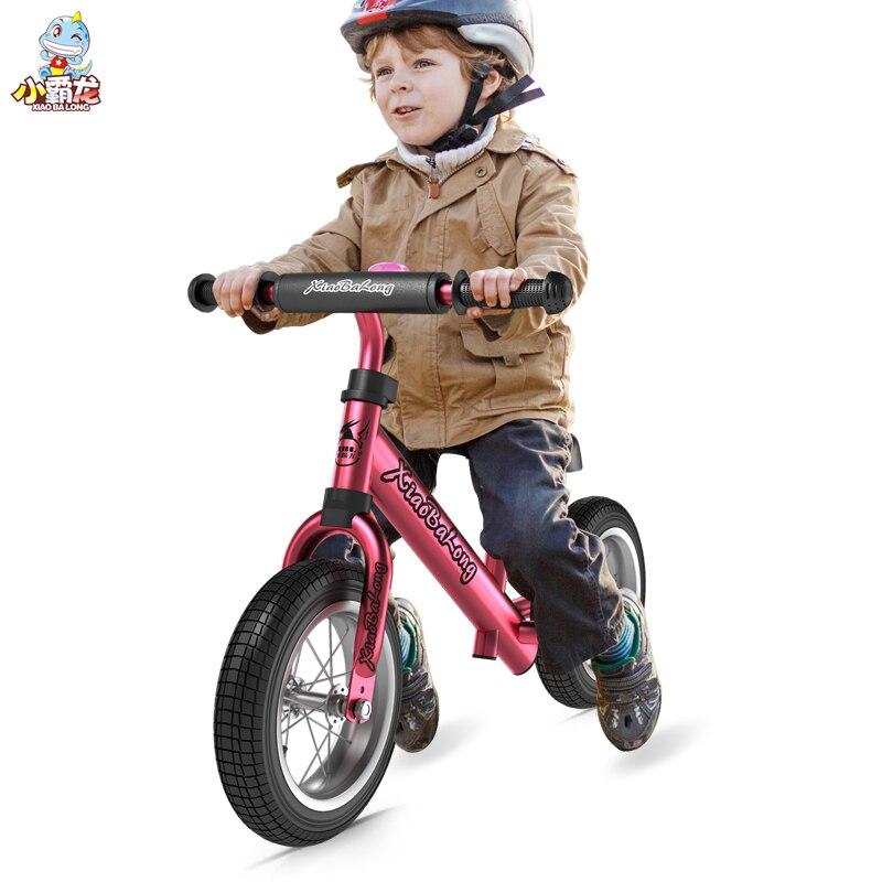Enfants deux roues Balance vélo 12 pouces enfant marcheur Portable vélo pas de pédale enfants vélo bébé marcheur équitation jouets