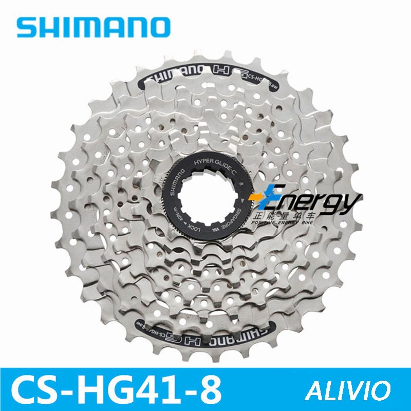 SHIMANO CS-HG41-8 MTB Mountain Bike Bicycle 8S Cassette Freewheel 8 Speeds Flywheel 11-32T Bicycle Parts 8s/24s Flywheel shimano cs hg41 acera 8 speed cassette for mountain bike bicycle