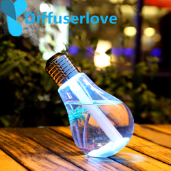 Diffuserlove 400ml LED Lamp Air Humidifier Essential Oil Diffuser Atomizer Air Freshener Mist Makerwith LED Night Light for Home