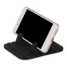 Car Phone Holder Silicone Mobile Phone Mount Stands Desk Bracket Support Gps For Iphone 6 6s Plus Samsung Xiaomi Phone Holder