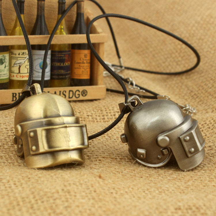 Chicken Game Accessories. Level 3 Bulletproof Helmet Necklace Fashion Personality New Fashion