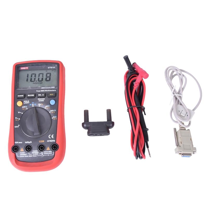 ФОТО 4pcs/lot UT-61D Handheld Digital Multimeters UT61D