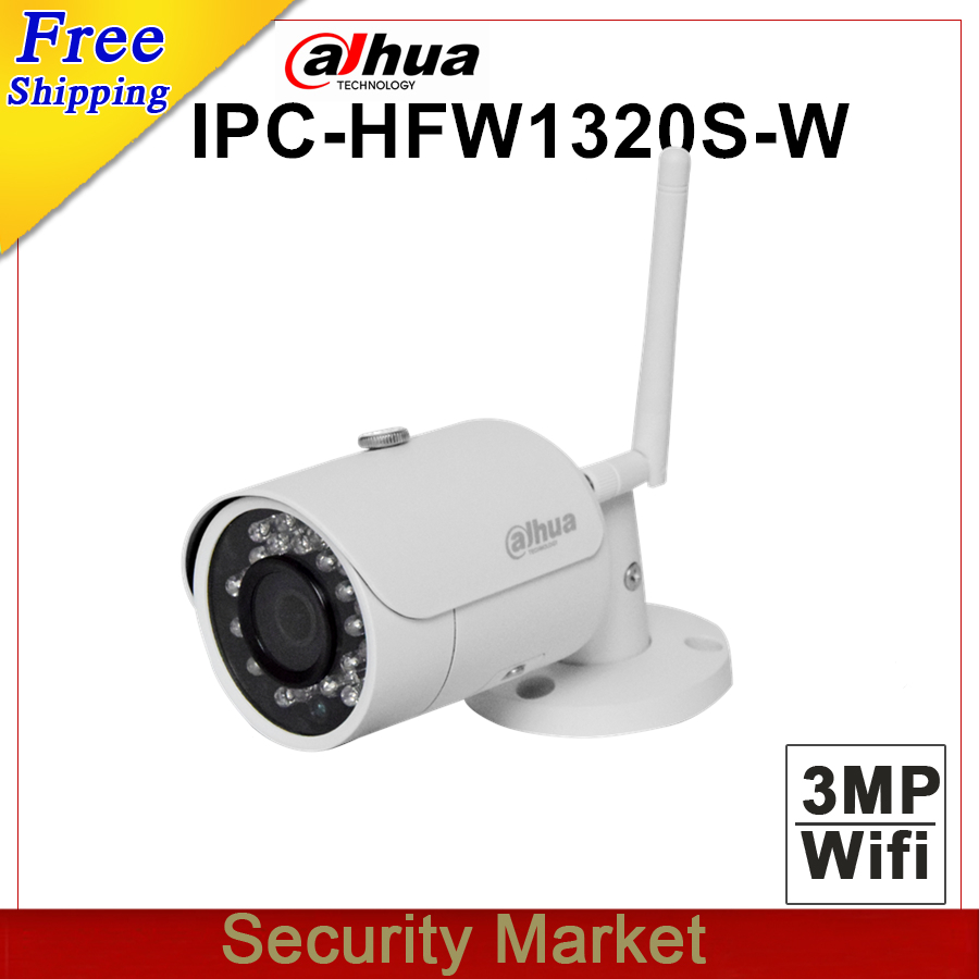 Original dahua english version IPC HFW1320S W replace IPC HFW2325S W 3MP IR Mini Dome Network