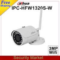 Original dahua english version IPC-HFW1320S-W replace IPC-HFW2325S-W 3MP IR Mini Dome Network Camera CCTV IP wifi wireless