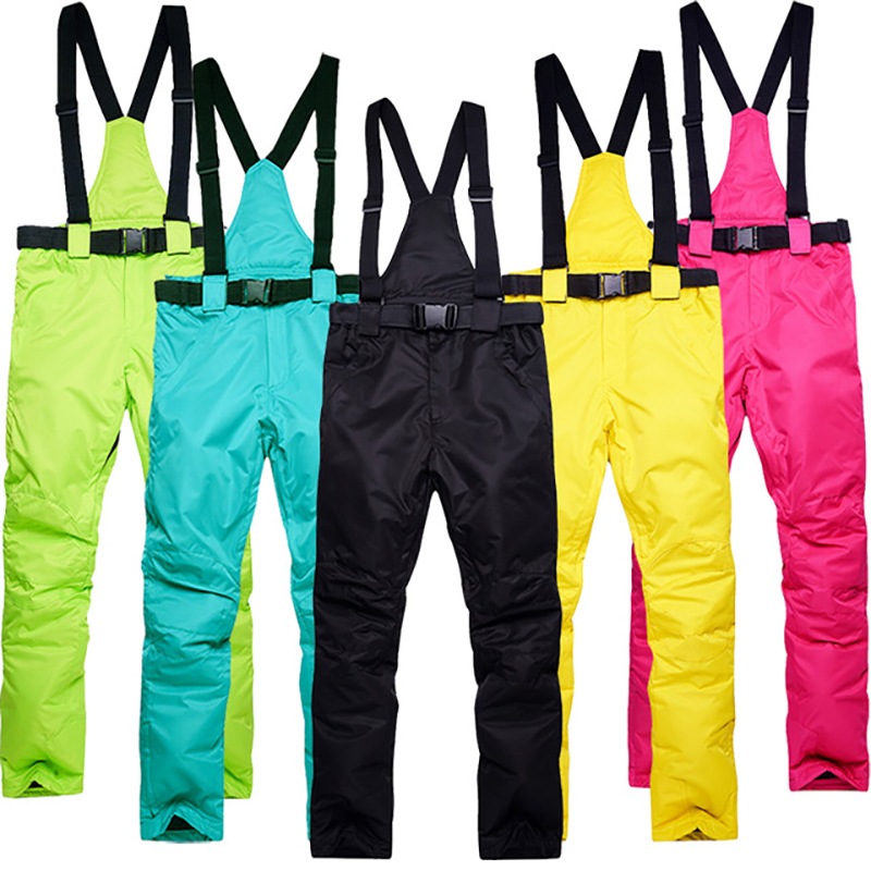 Men Ski Pants Brands New Outdoor Sports High Quality Suspenders Trousers Women Windproof Waterproof Warm Winter Snow SnowboardMen Ski Pants Brands New Outdoor Sports High Quality Suspenders Trousers Women Windproof Waterproof Warm Winter Snow Snowboard