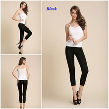 New arrival double-faced pure silk knitted leggings,100% silk knitted nine pants,100% natural silk legging