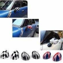 Areyourshop Auto Achteruitkijkspiegel Zijspiegel Cover Cap Voor Mini Cooper Hardtop 2014 F55 & 2015 F56 Abs Plastic Auto Styling