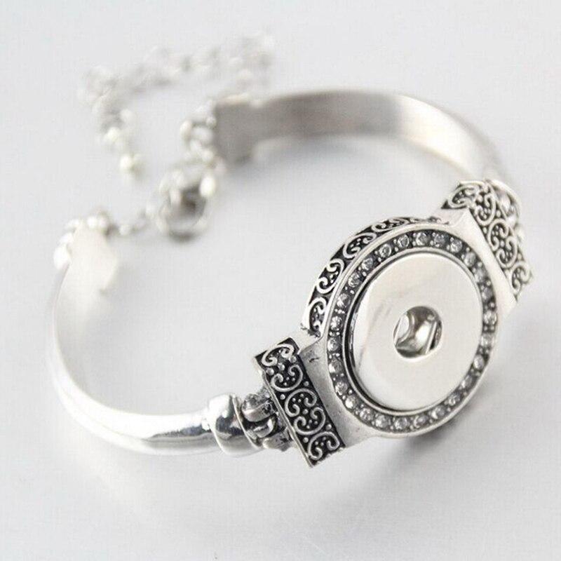 Button Armband Bracelet...