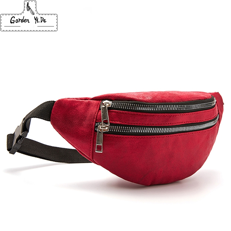Fanny Pack Waist Bags Travel Belt Chest Phone Waist Packs Fashion Women Bum Bag Double Zipper Large Capacity Heuptas