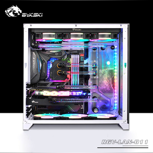 Image 3 - BYKSKI Acrylic Board Water Channel Solution kit use for LIAN LI O11 Dynamic Case / Kit for CPU and GPU Block / Instead reservoir