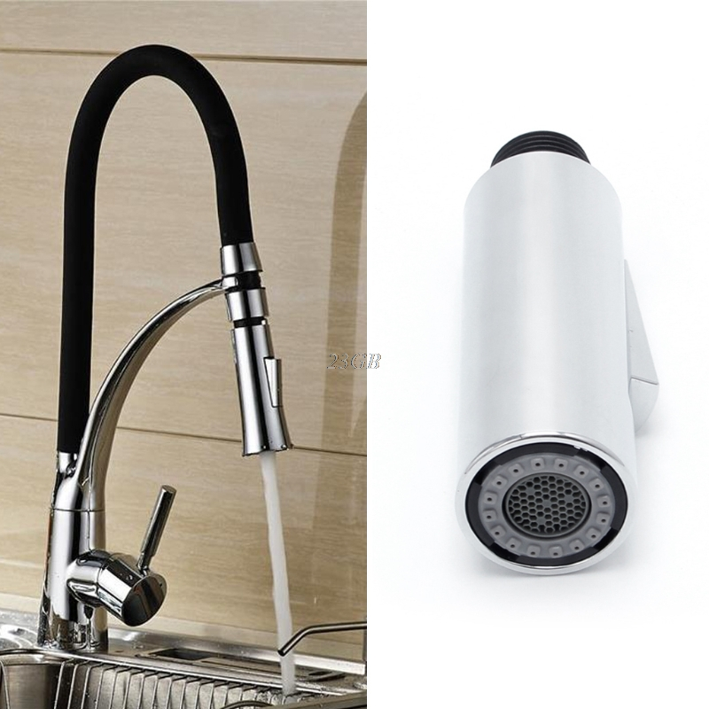 Kitchen Pull Out Faucet Sprayer Nozzle Water Saving Bathroom Basin Spray Tap JUL25 20
