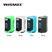 Original WISMEC Luxotic DF TC Box MOD with 200W Huge Power & 1.3 Inch Display Squonk Mod No 18650 Battery Vs Luxotic BF/RX GEN3