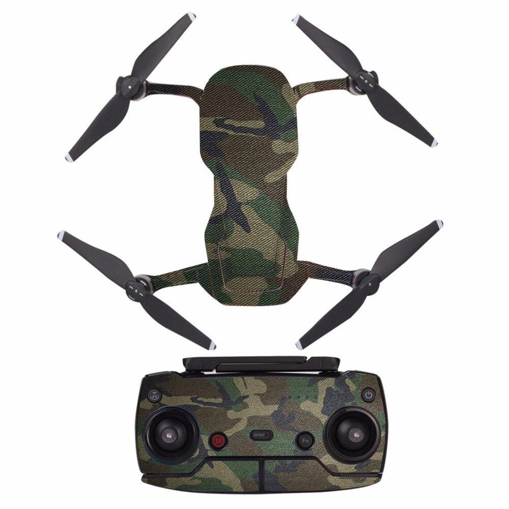 Mavic Air Stickers Battery Decal Remote Controller Skin Full Set Drone Body Sticker For DJI Mavic AIR