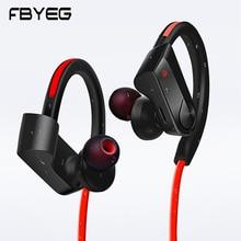 FBYEG K98 Bluetooth наушники Беспроводной наушников спортивные гарнитуры sweatproof бас шумоподавления наушники с микрофоном для телефона