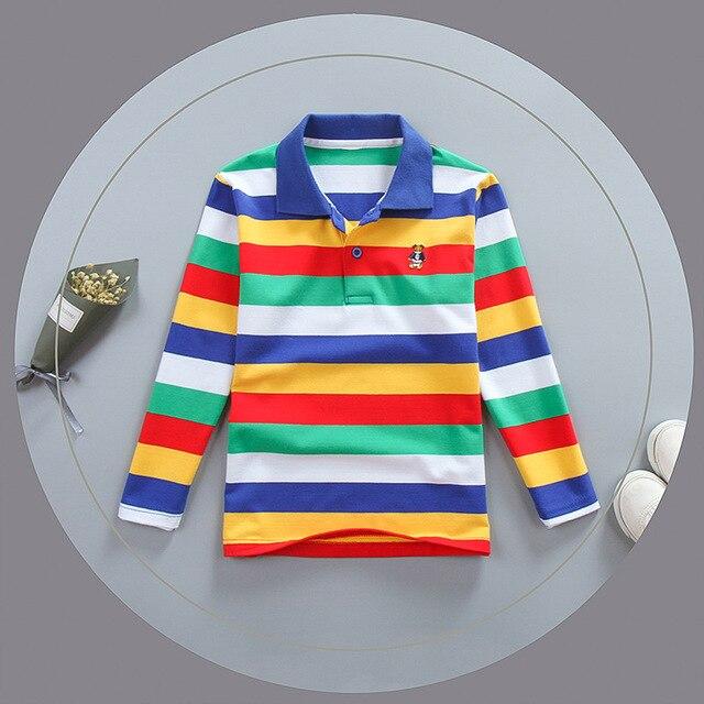 00ac9ae5 Top quality boys girls clothing for children kids baby toddler big boy t  shirt long sleeve cotton shirts 4 6 8 10 12 14 16 years