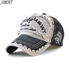 [JAMONT] Brand Wholesale Retro Baseball Cap Men Cotton Sun Hat For Women Hip Hop kpop Trucker Hat Unisex Snapback Cap Casquette(China)