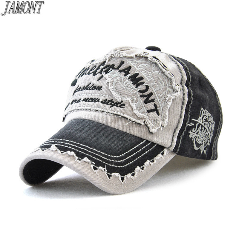 Kunming~ Skull and Butterflies Men Fashion Adjustable Flat Brim Baseball Cap Black