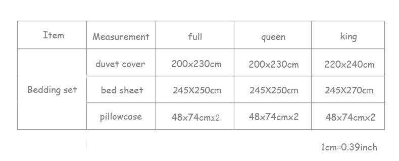 245bedsheet size