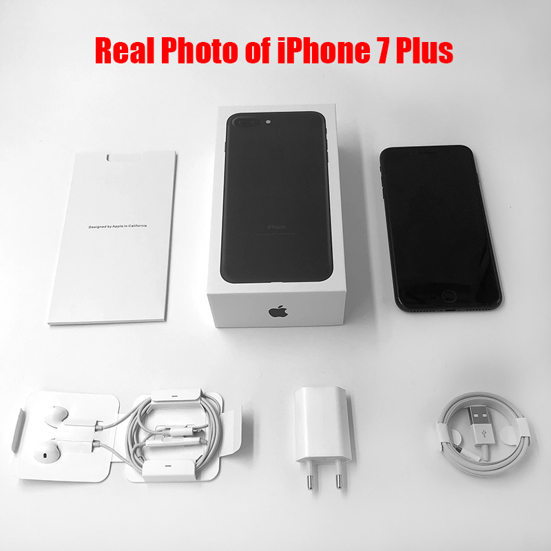 Image 5 - Unlocked Apple iPhone 7 /iphone 7 Plus 2GB RAM 32/128GB/256GB IOS 10 LTE 12.0MP Camera Quad Core Fingerprint 12MP Cell Phones-in Cellphones from Cellphones & Telecommunications