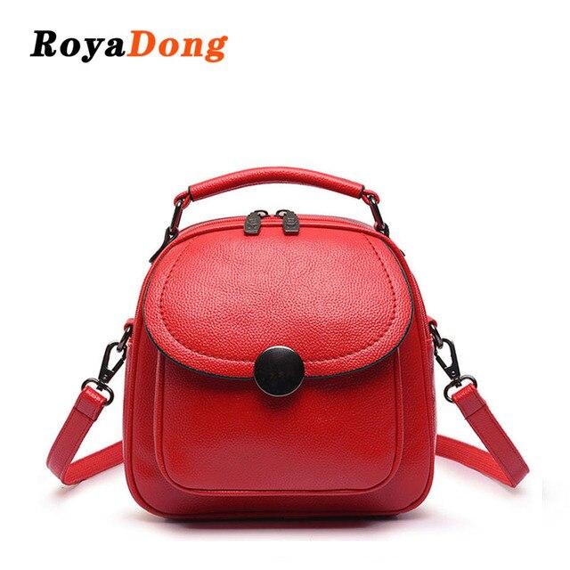 8131356279b6 RoyaDong 2019 женский рюкзак из искусственной кожи Модные школьные сумки  для девочек-подростков мульти-