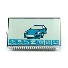 LCD display Screen for Vehicle Security 2 Way Car A