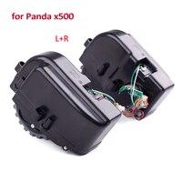2pcs Lot L R Wheel For Panda X500 Vacuum Cleaner Replacement Parts