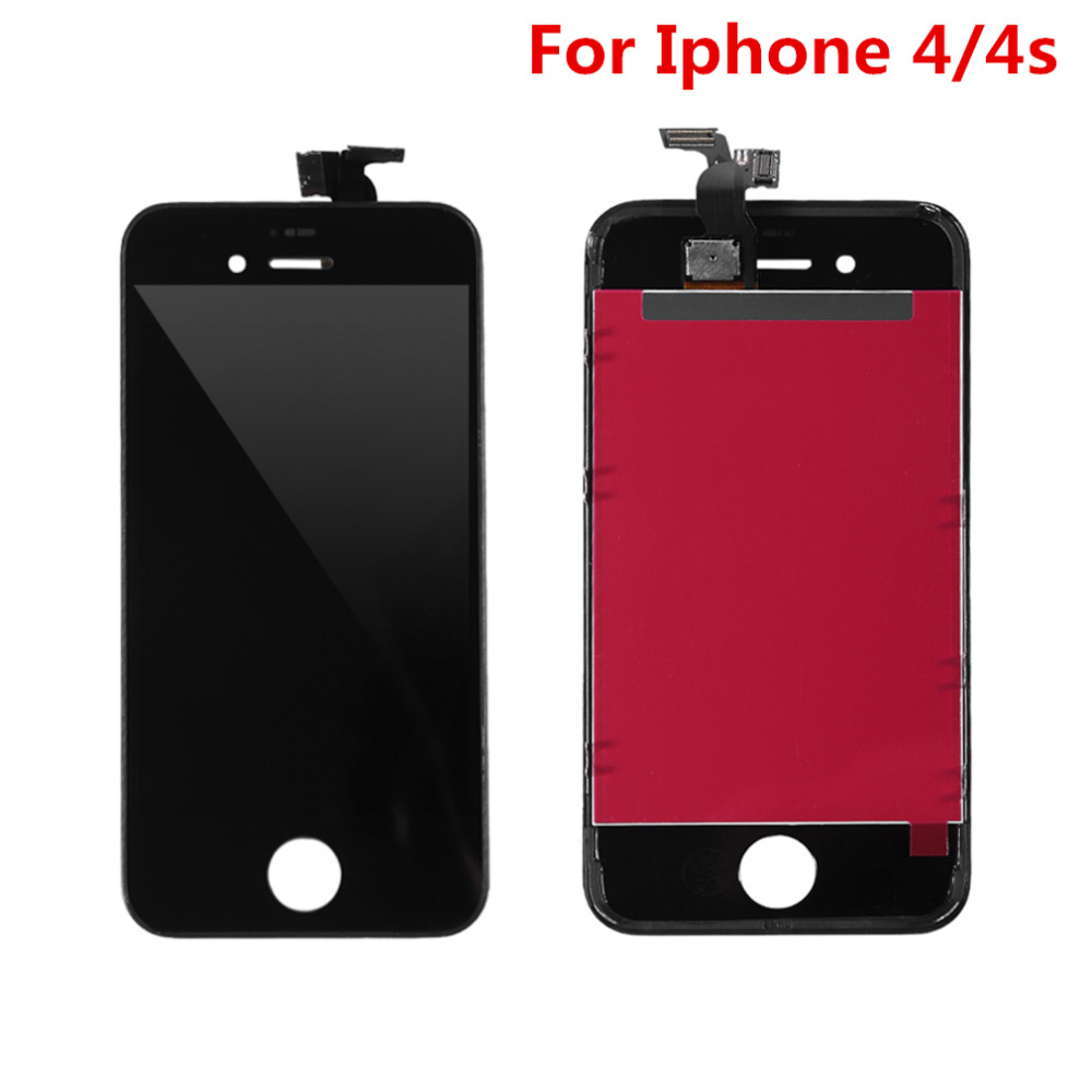 High Quality Replacement LCD Screen For IPhone 4 4S Display With Digitizer Touch Screen Assembly Tool