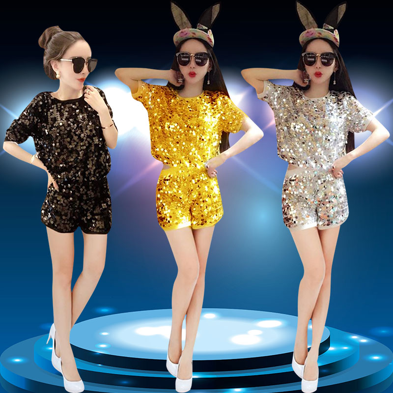 2019 summer jazz dance costumes women bunny girl bodysuit costume sexy singer female dj birthday stage outfits show clothes