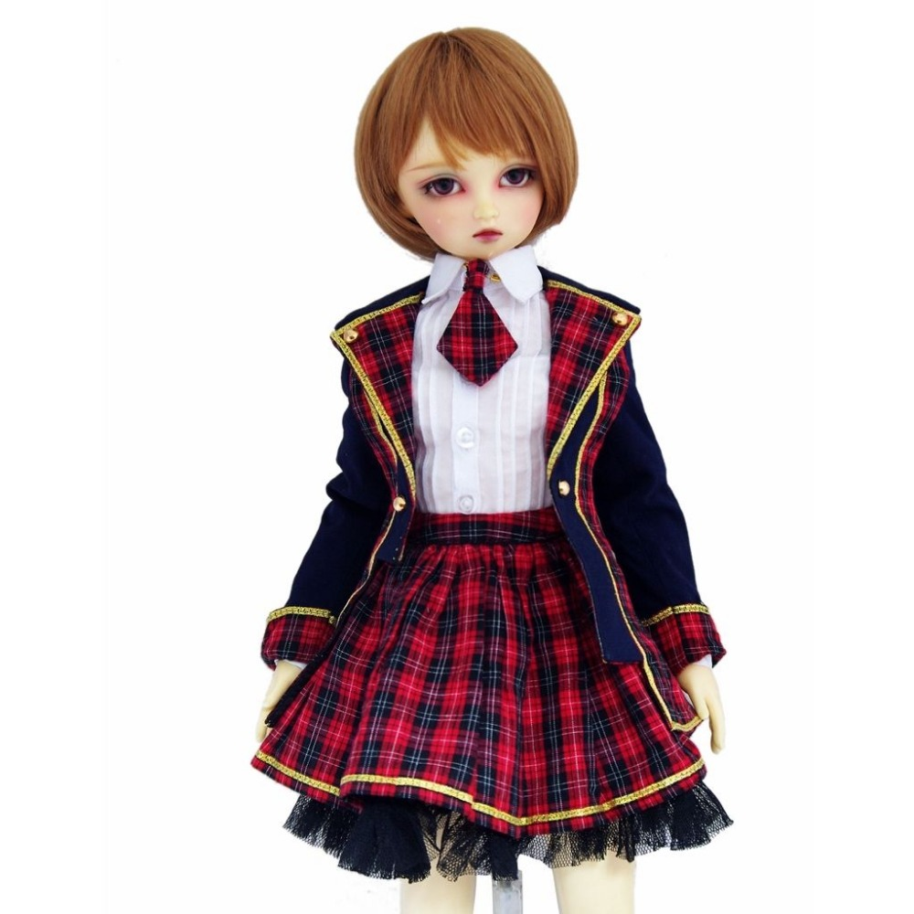 [wamami] 300# Hot School Uniform/Suit For 1/3 SD AOD DOD BJD Dollfie [wamami] saber cosplay costume suit for 1 6 sd dod aod bjd doll dollfie