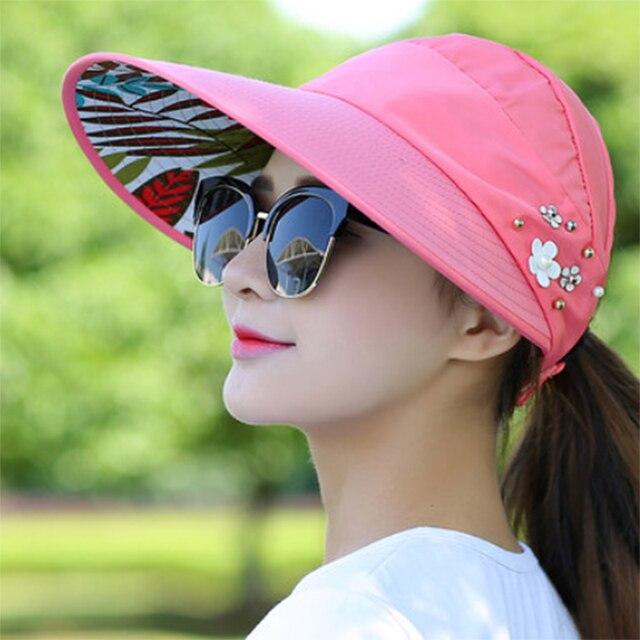 6655b269dae Lacontrie Women Summer Sun Hat sunscreen outdoor sports Baseball cap with no  top Visor HipHop empty