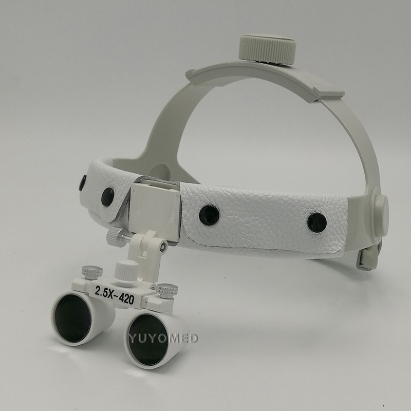 2.5X magnification high quality adjustable angle easy fixed dental loupe clinical medical operation enlarger surgical magnifier clinical