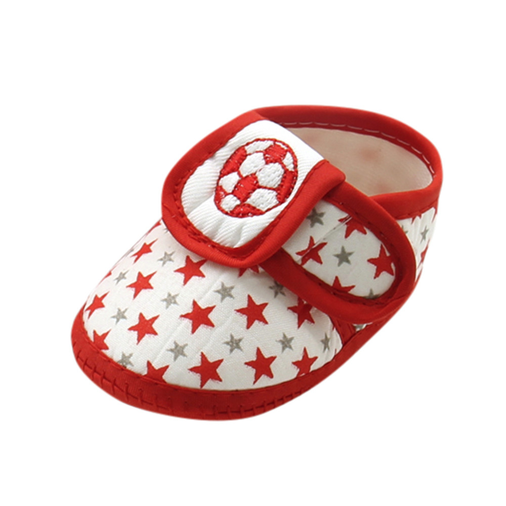 SAGACE Prewalker Shoes Anti-Slip Toddler Infant Star Soft-Sole Boys Cute